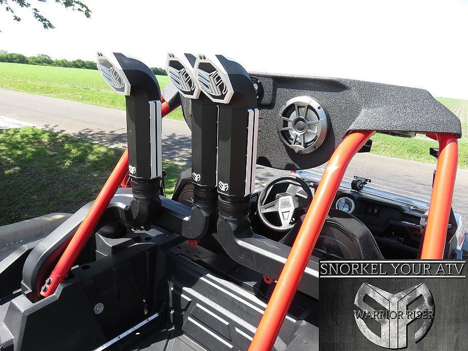 "SYA 3"" Warrior Riser Extension Kit For Polaris RZR XP 1000"