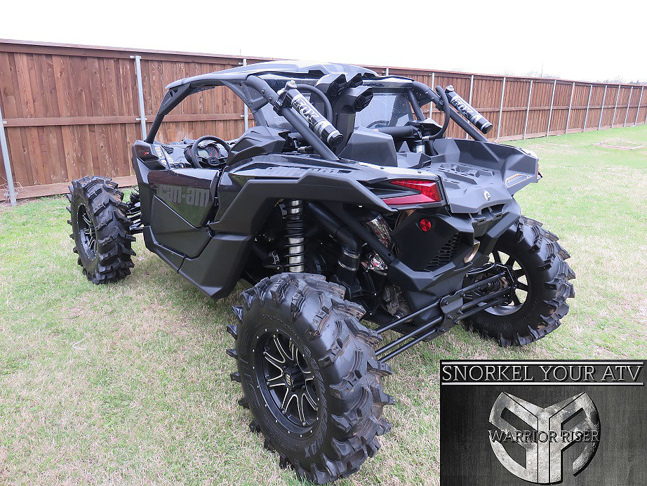 2017 Can Am Maverick 4 Seater >> SYA Warrior Riser Snorkel kit for Can-Am Maverick X3 Turbo & non Turbo 2017 - 2019