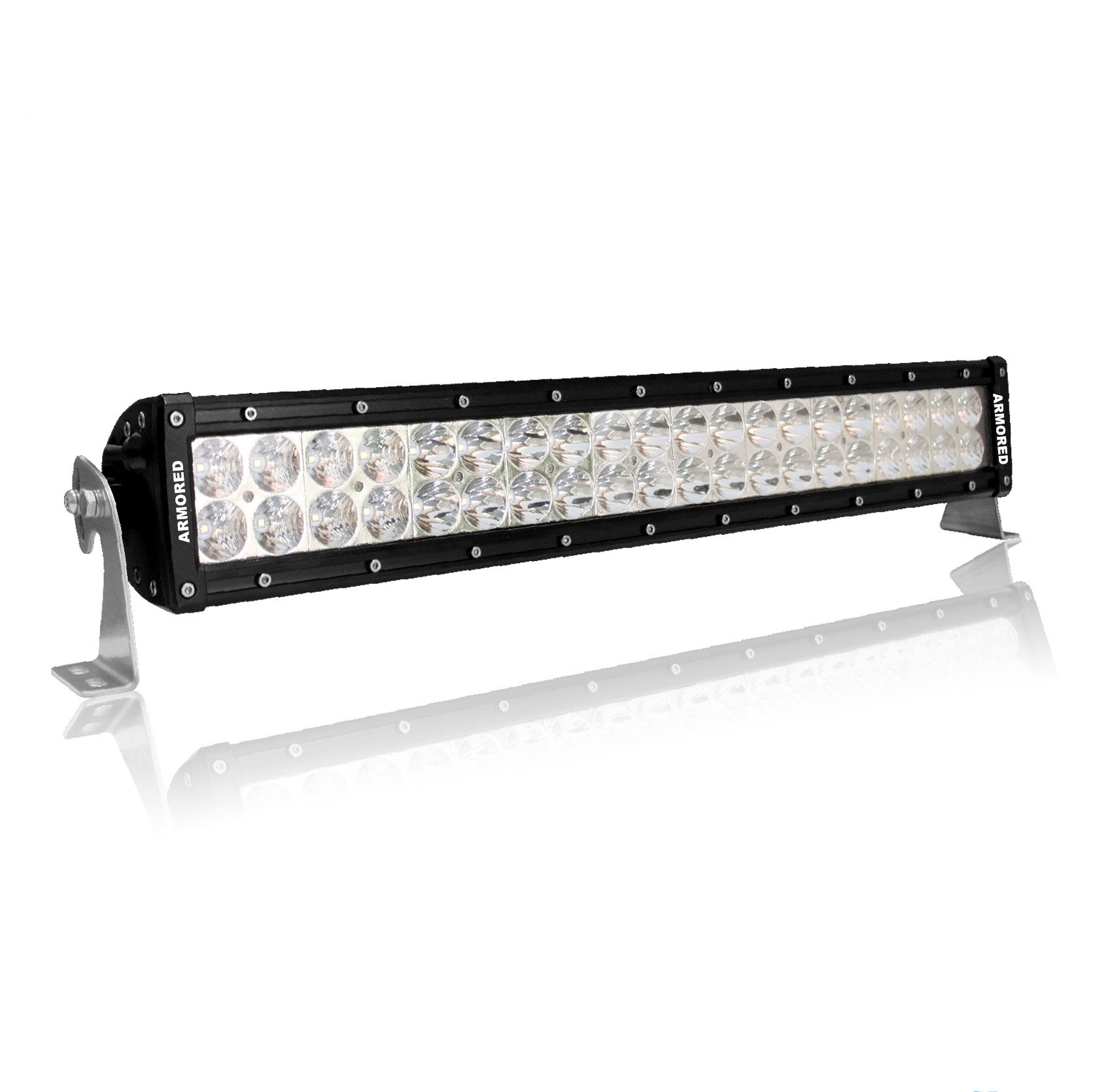 20 inch double row series double row led light bar combo 200w. Black Bedroom Furniture Sets. Home Design Ideas