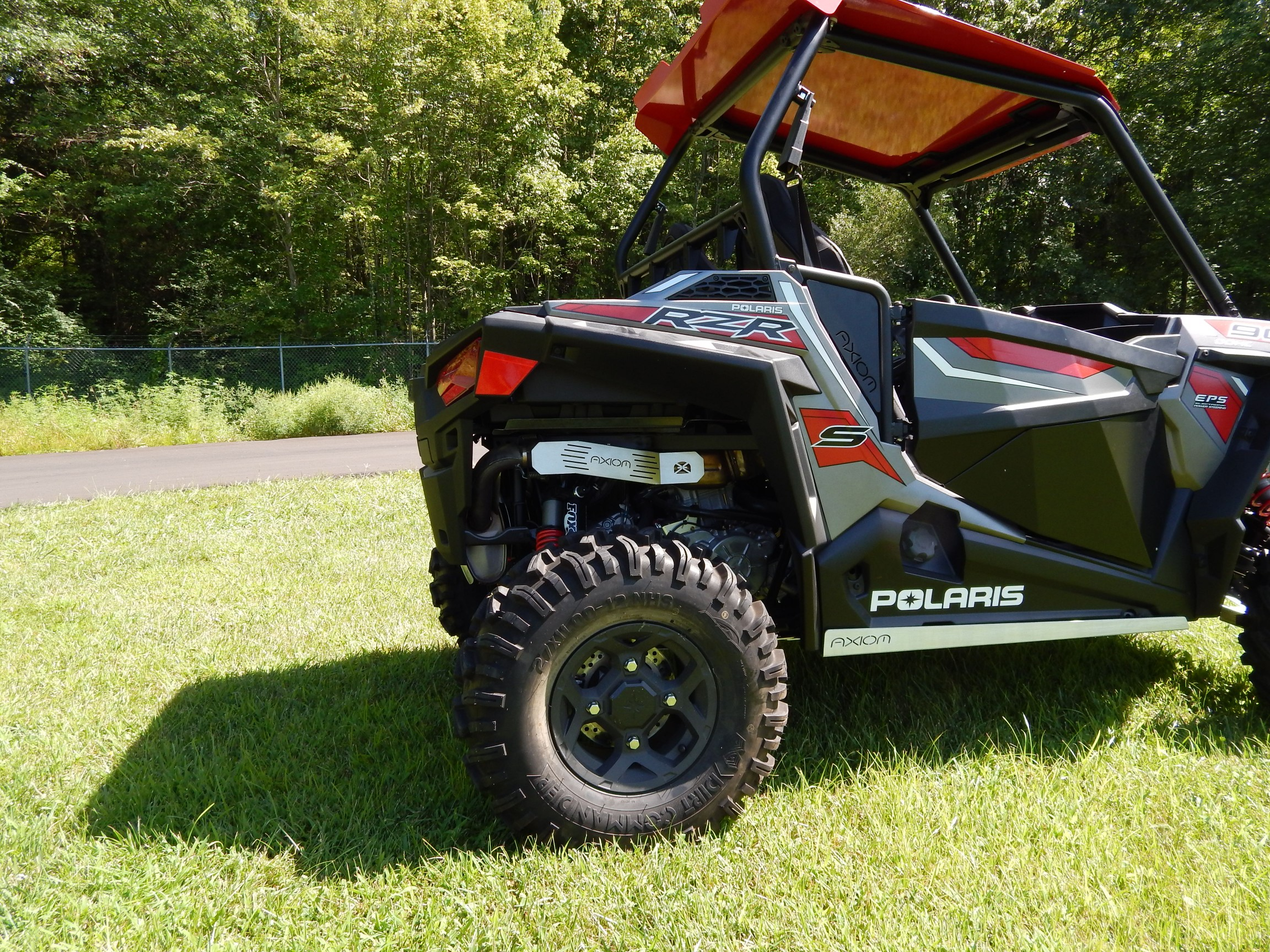 Polaris RZR 900 & RZR 1000 S Exhaust Cover