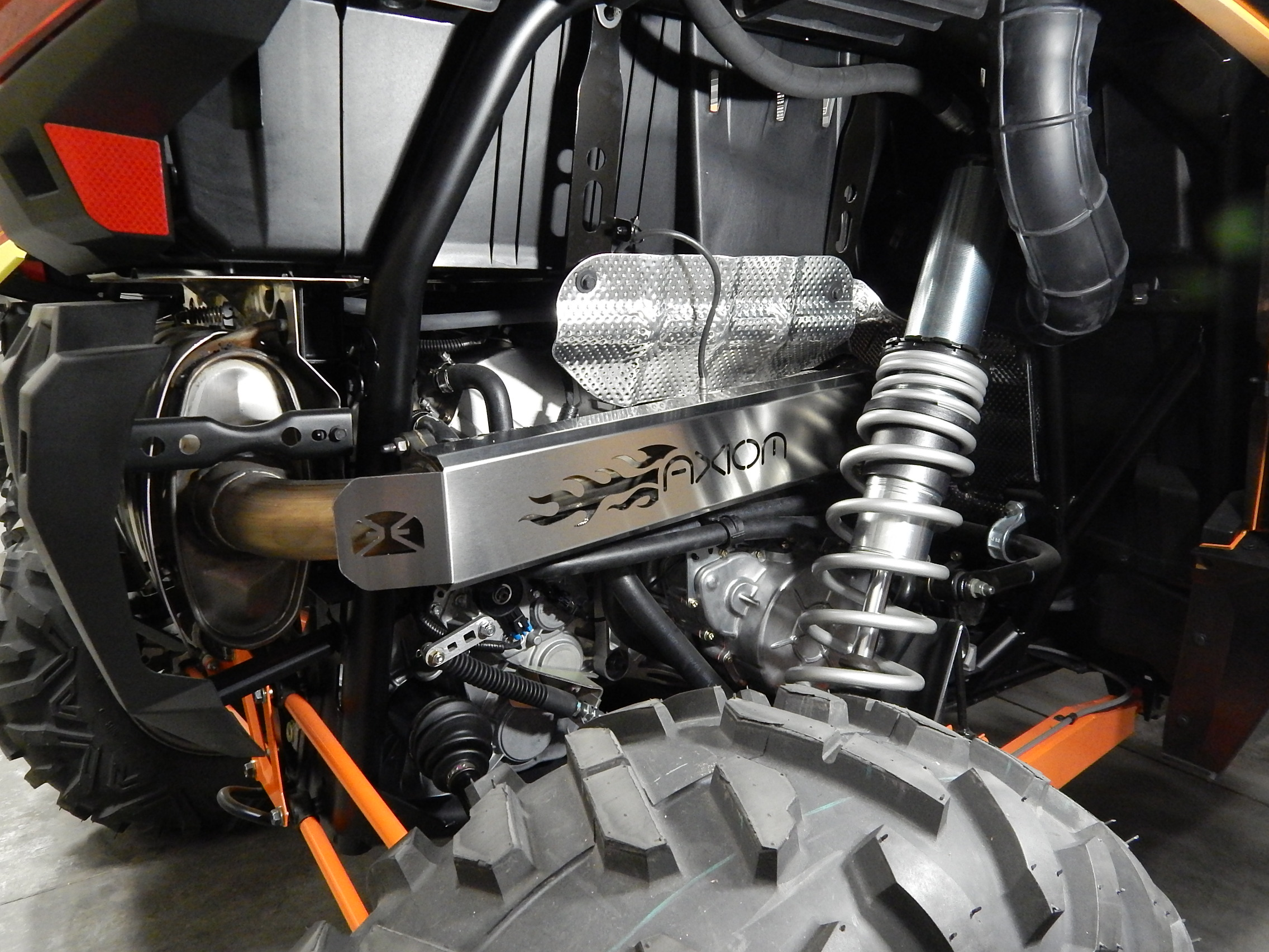Polaris RZR XP Turbo Exhaust Cover