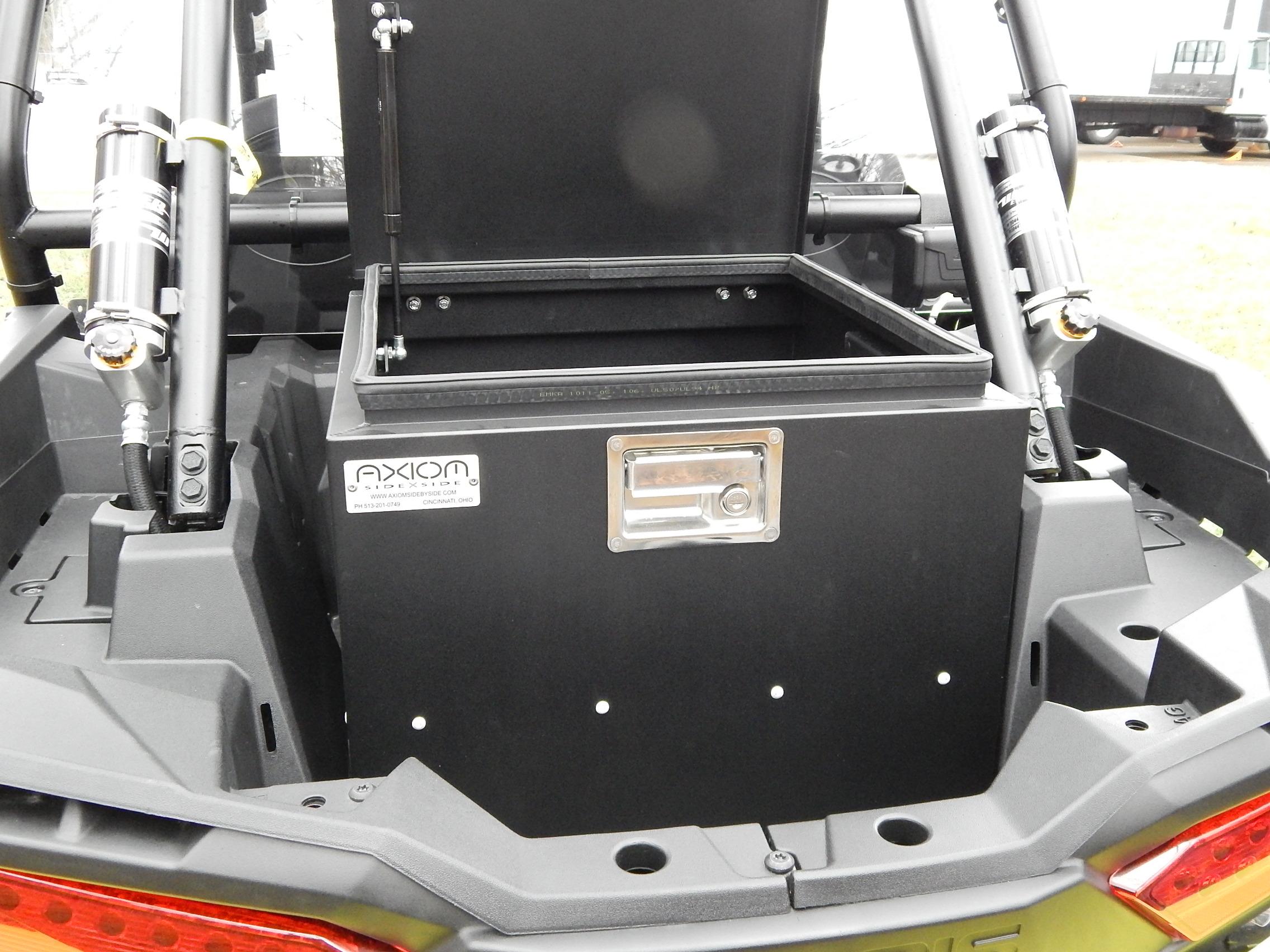 Polaris RZR XP Models Rear Cargo Box