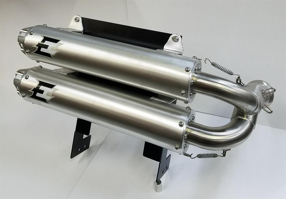 Empire Industries Can Am Maverick X3 Dual Slip On Exhaust