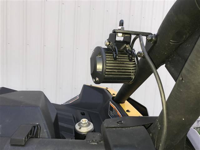 Emp Can Am Maverick X3 Rear Light Flag Mount Bracket Set
