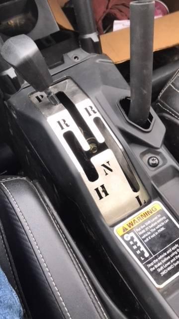EMP Can-Am Maverick X3 Shifter Gate