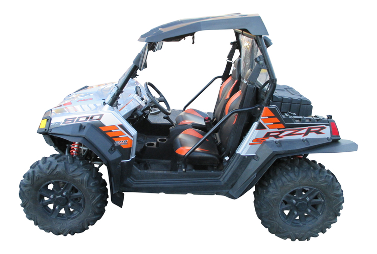 polaris rzr s 800 fender flares. Black Bedroom Furniture Sets. Home Design Ideas