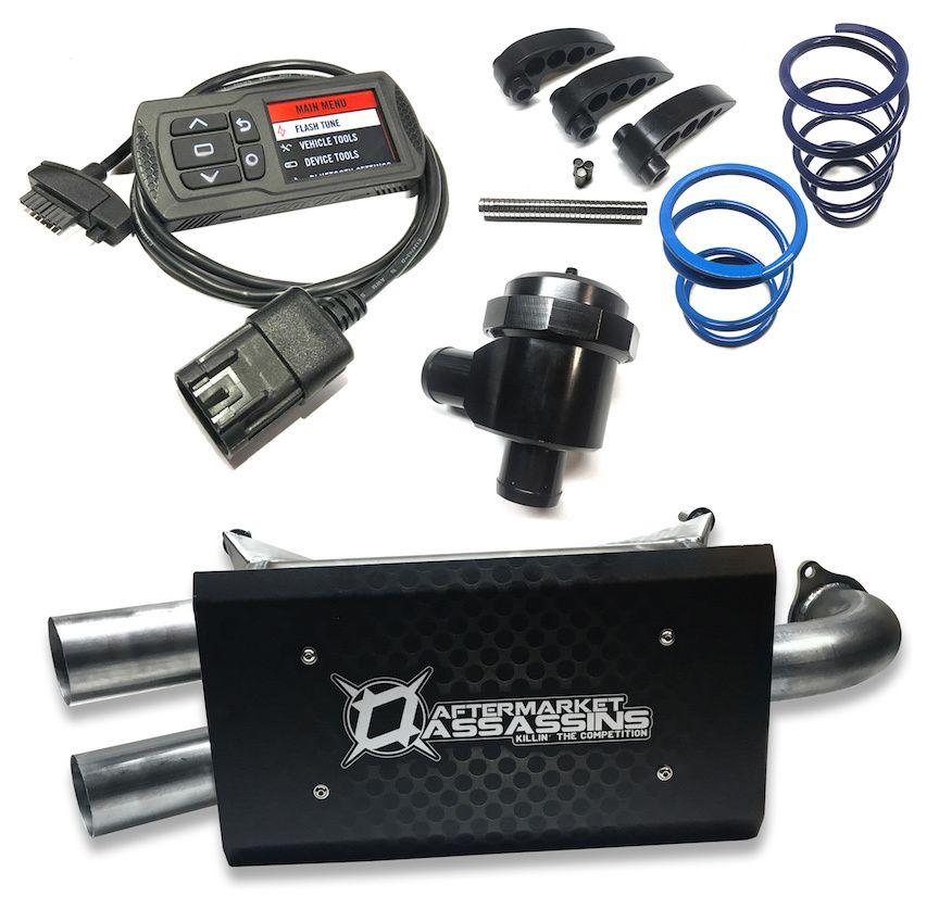 Aftermarket Assassins '17-'19 RZR XP Turbo / Turbo S Stage 2 Lock & Load Kit