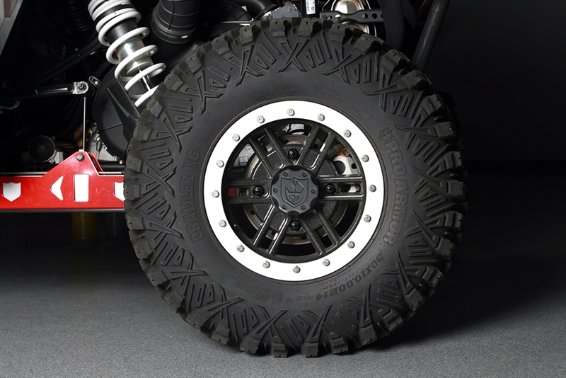 Pro Armor Force Beadlock Wheels (Polaris Bolt Pattern, 4x156)