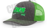 Snapback Hat (Green/Grey)