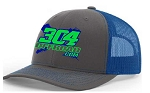 Snapback Hat (Special Edition Logo/Blue)