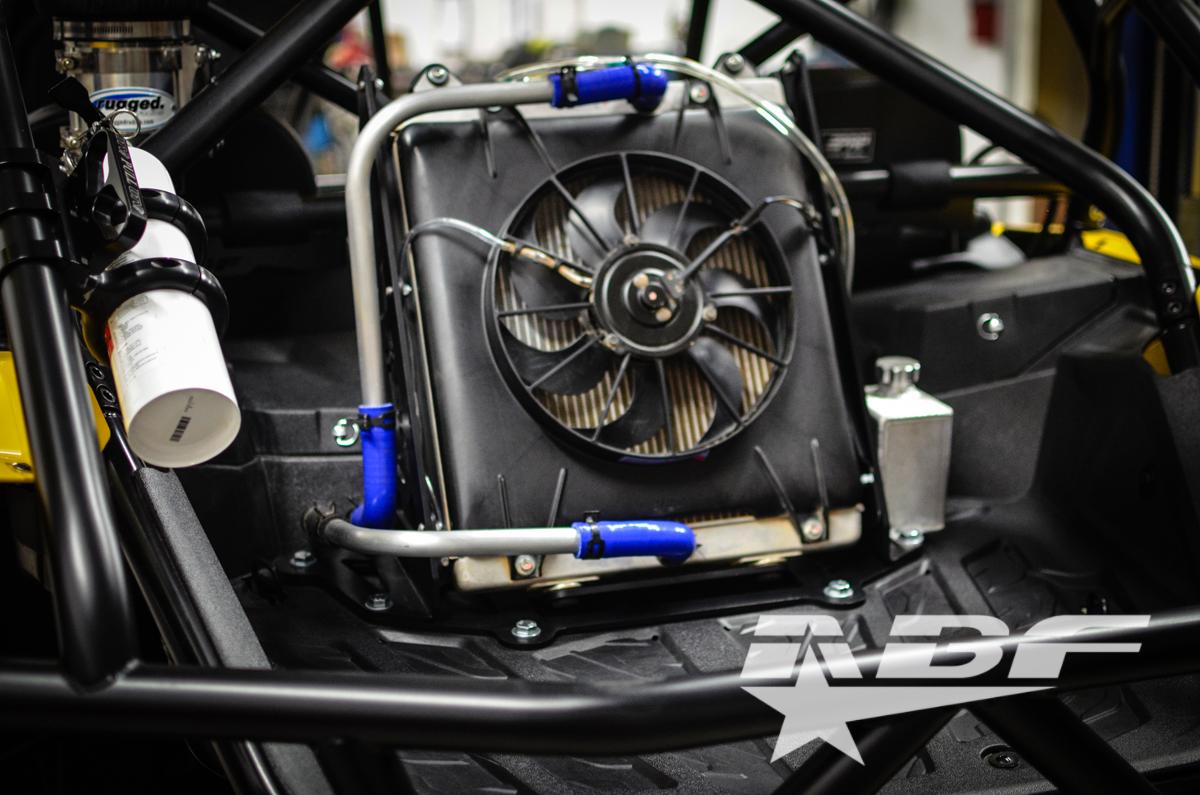 Abf Fabrication Radiator Relocation Kit