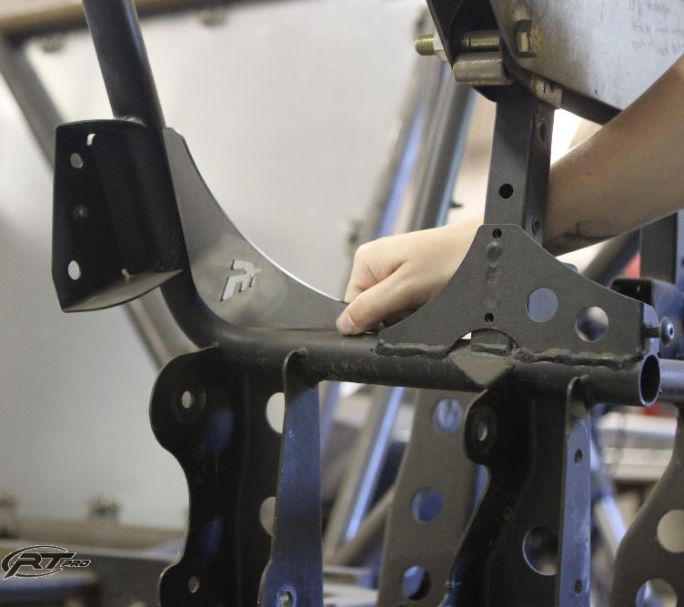 RT Pro RZR 800 Weld-in Chassis Gusset Kit