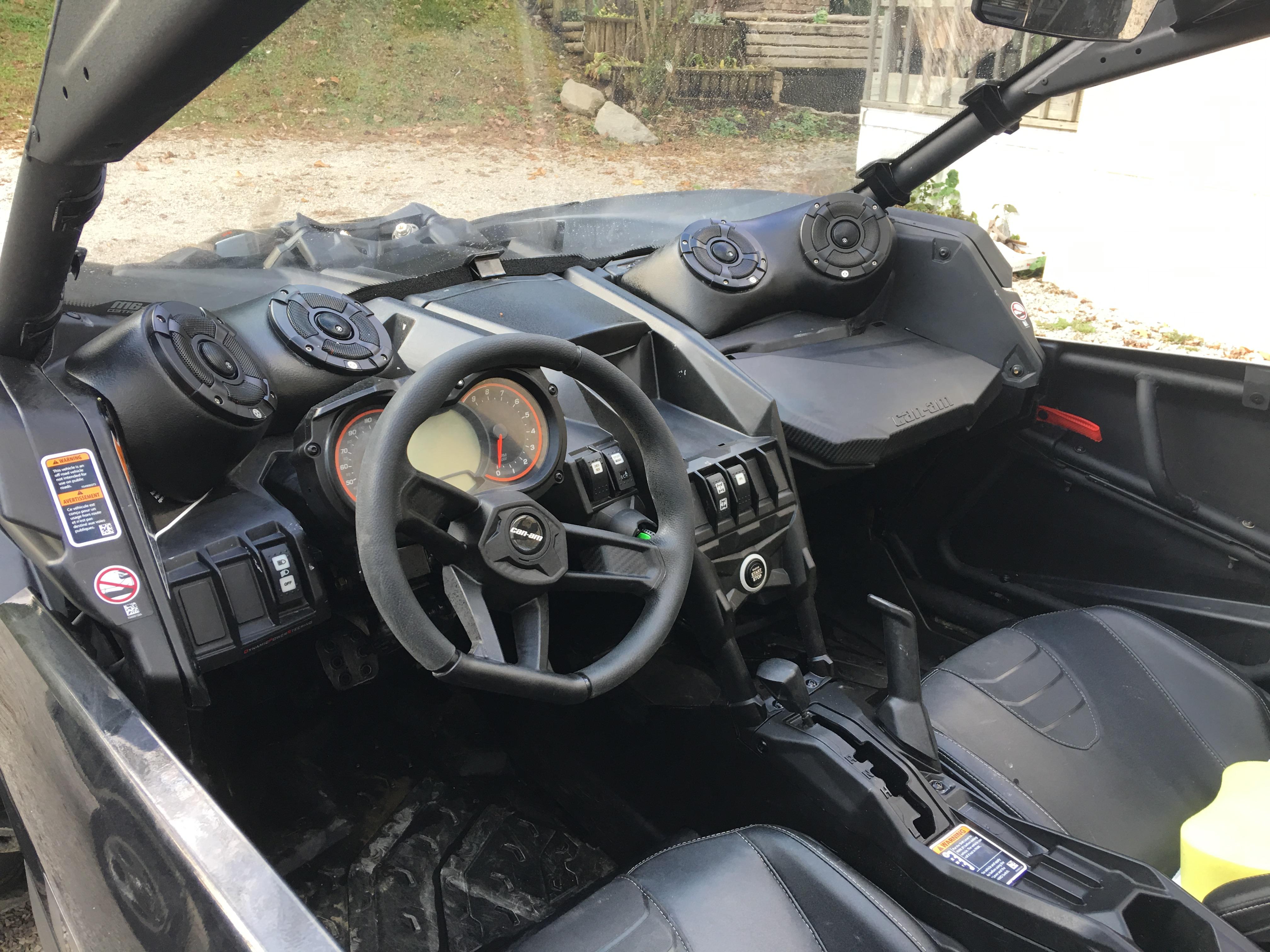 Sxs Audio Can Am X3 Dash Pods