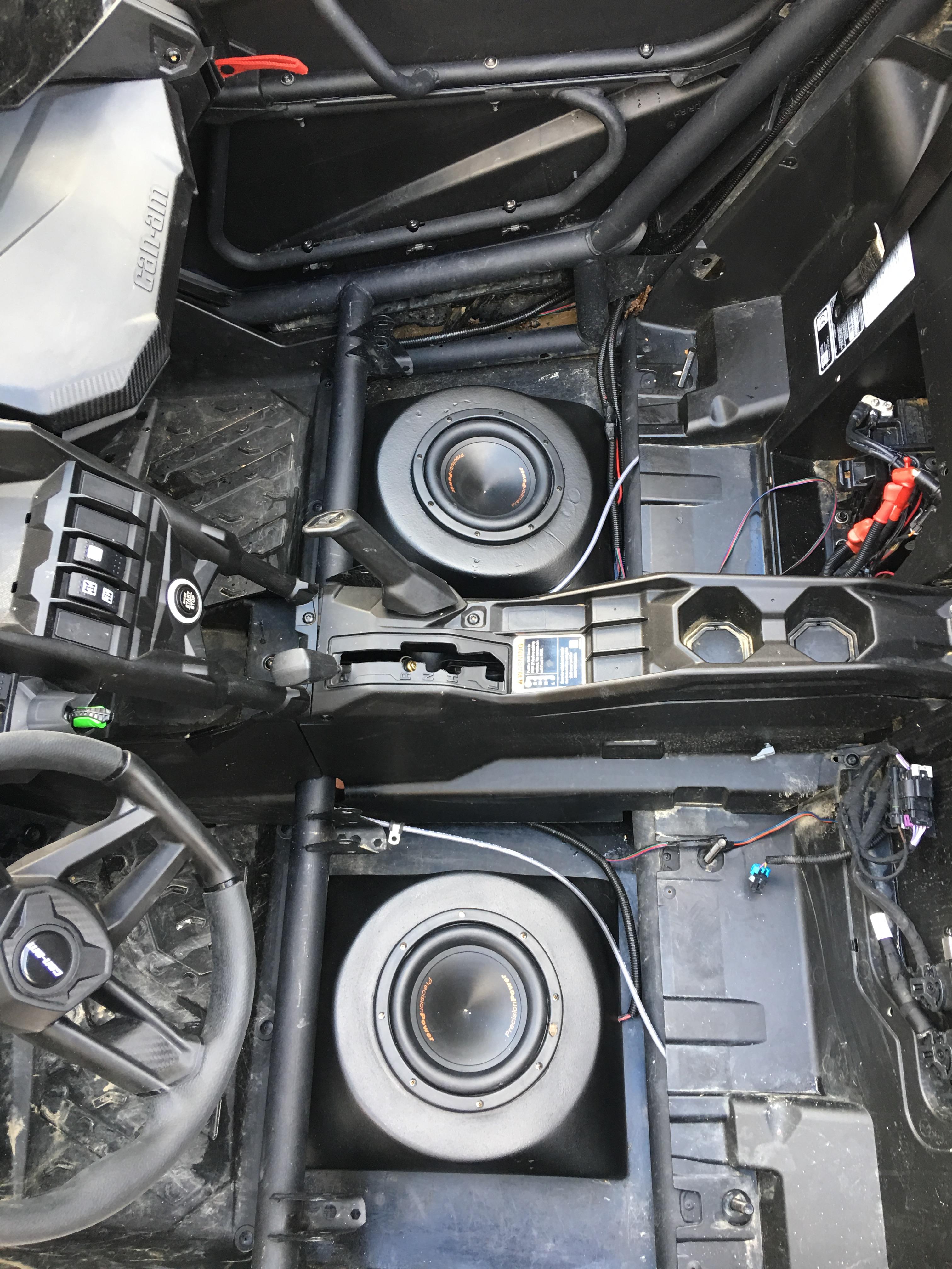 Sxs Audio Can Am X3 Sub Enclosures