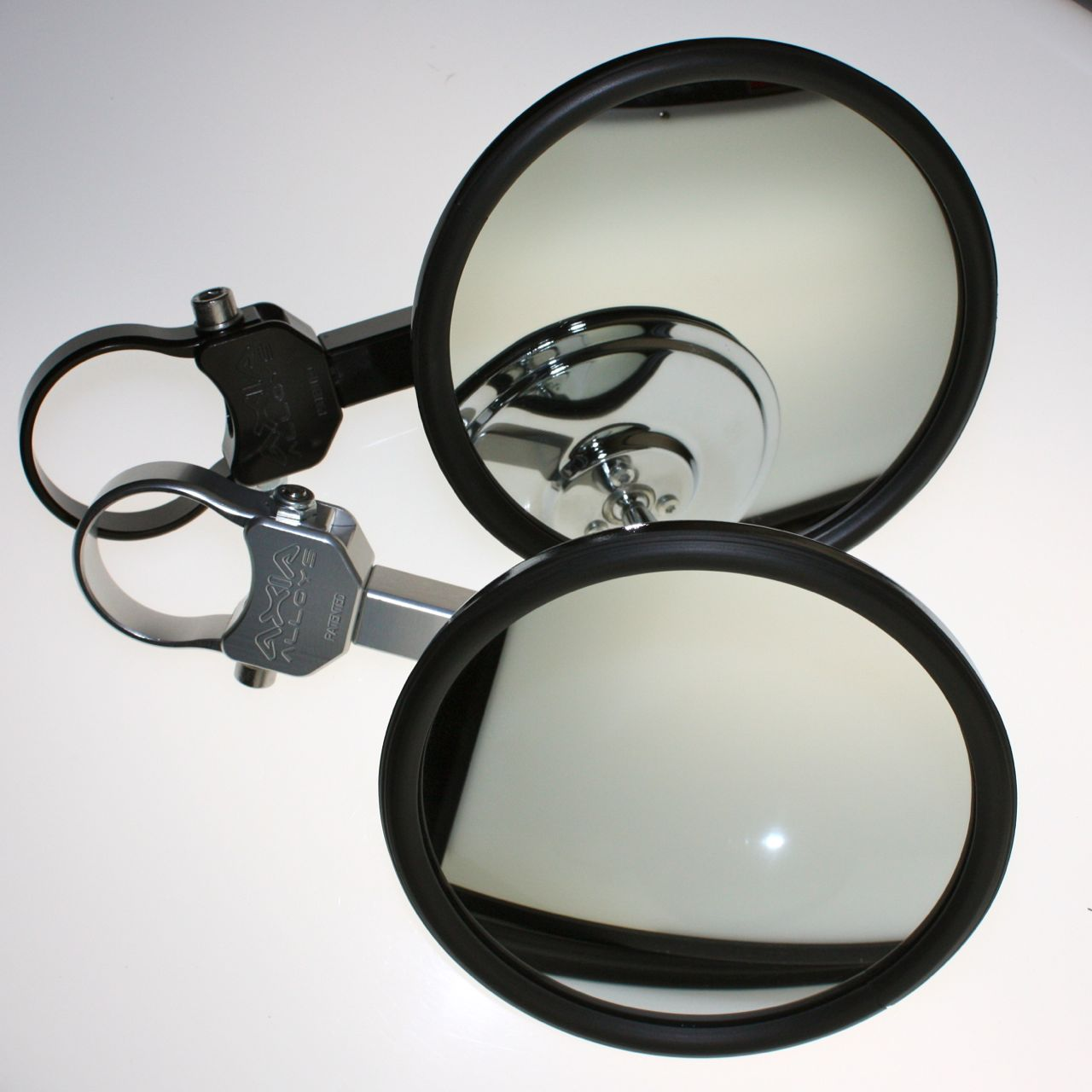 "NEW STRIKE Seizmik Side View Mirrors 1.85/"" 2/"" Can-Am Maverick X3 Kawaski Teryx"