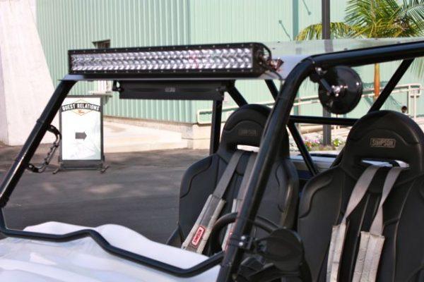 """Axia Alloys Aluminum 9/"""" Panoramic Mirror /& Clamp Polaris Yamaha Kawasaki"""