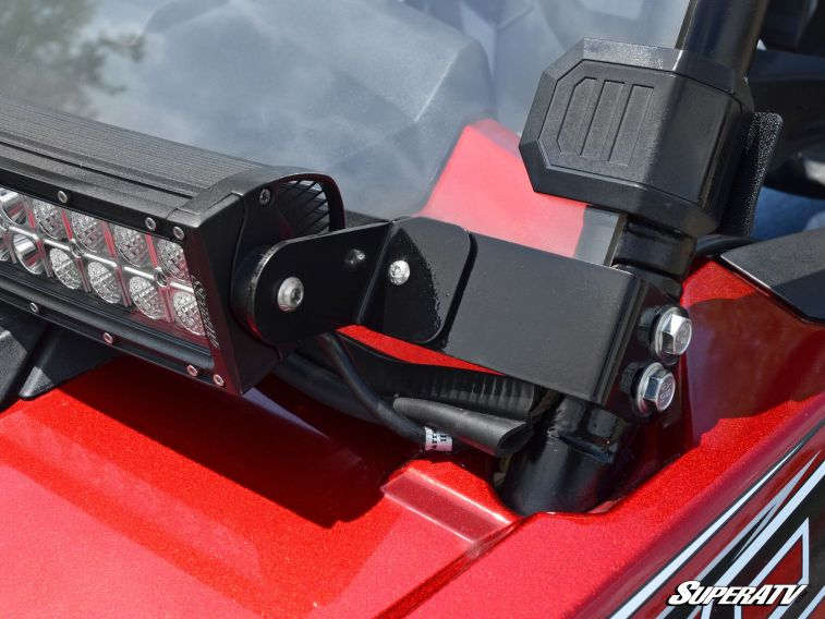Superatv Polaris Rzr 30 Quot Light Bar Mounting Bracket