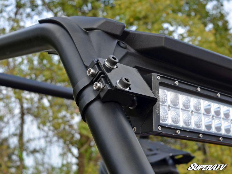 Superatv Polaris Rzr 30 Quot Straight Curved Light Bar Cage