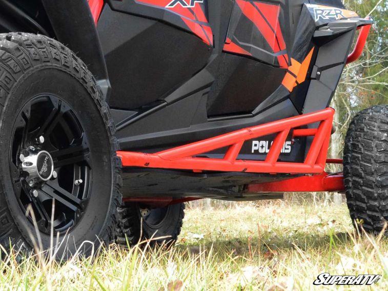 2014+ Compatible With Our Full Protection Kit! Black Rock Sliding Nerf Bars SuperATV Polaris RZR XP 1000