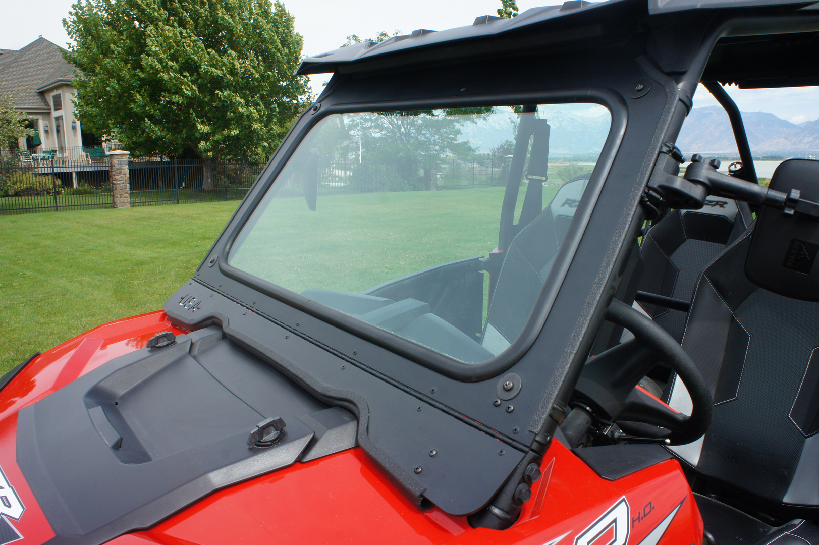 Rzr 1000 Full 1 4 Quot Glass Windshield