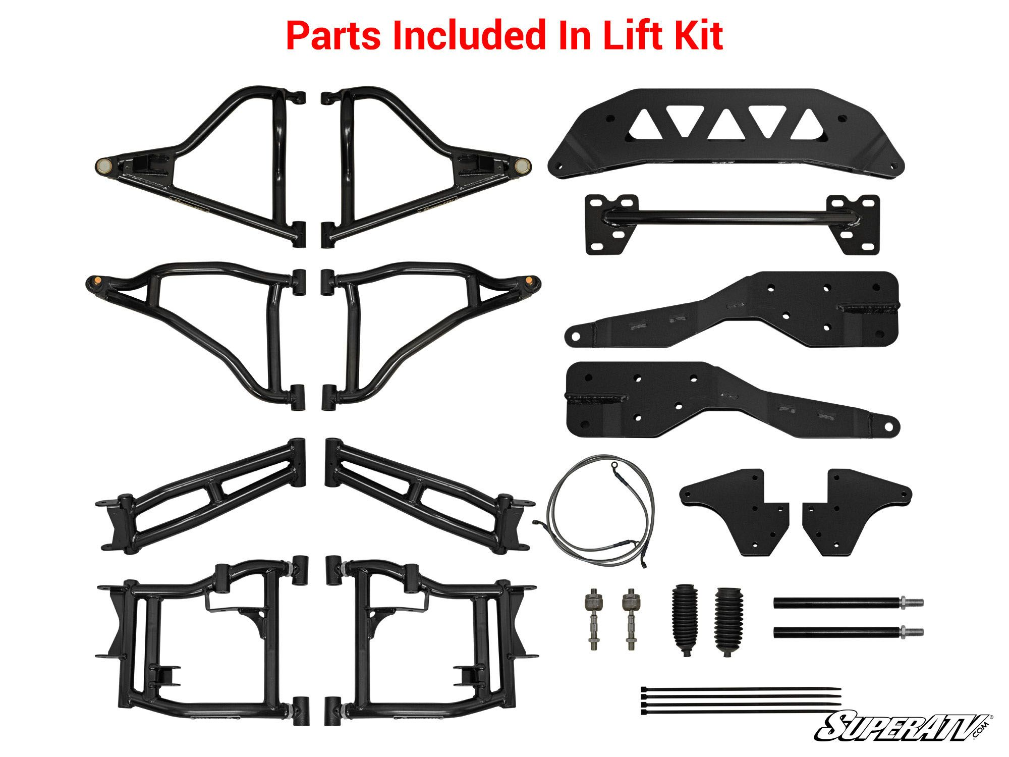 SuperATV RZR 900 To RZR S 900 Suspension Conversion Kit - High Clearance -  1 5 Offset