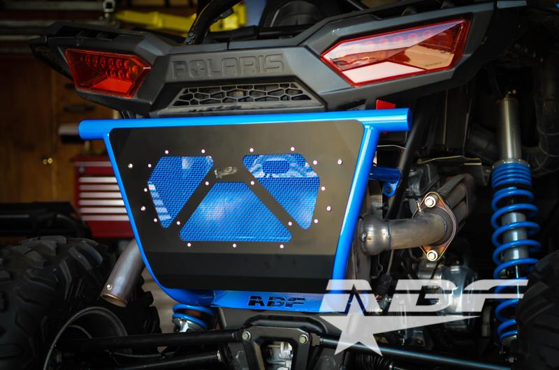 "Walker Evans Racing >> ABF Fabrication Rear Bumper - ""short"" w/muffler cover"