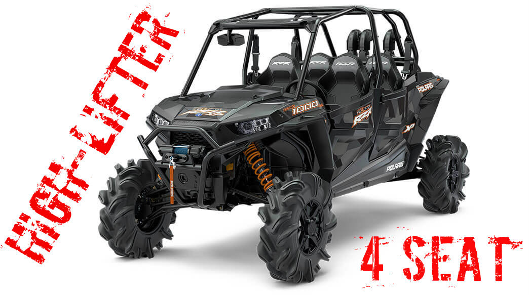 Allthingzutv 4 Seater Rzr Highlifter Tender Springs