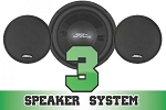 SSV Works Cam-Am Commander/Maverick Complete 3 Speaker System