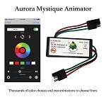 Aurora Mystique Bluetooth LED Whip Animator