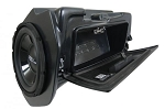 SSV Works Polaris '15+ RZR Weather Proof Glove Box Sub Box With Amplified 10