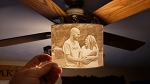 Custom 3D Printed Lithophane (No Enclosure)