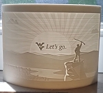 WV Mountaineer Landscape Lithophane