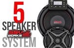 SSV Works Polaris '15+ RZR Complete SSV Works 5 Speaker Plug-And-Play System