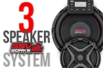 SSV Works Polaris General Complete Ssv Works 3 Speaker Plug-And-Play System
