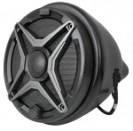 SSV Works Polaris General Cage Mount Pods Including Clamps With 120 Watt 6 1/2 Inch Speakers