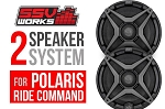 SSV works Polaris RZR XP Turbo S - 2 speaker system