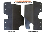 Polaris General 1000 Radiator Protection Panels