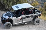 Moto Armor Aluminum Roof (With Sunroof) for Polaris General 4