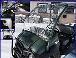 EMP Kawasaki MULE 610 Windshield (Hard Coated Polycarbonate)