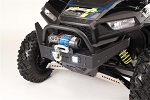 RZR Extreme Front Bumper / Brush Guard with Winch Mount With LED Lights