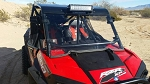 RZR Windshield for PRO-ARMOR After Market Cages