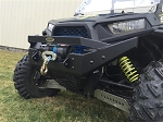 RZR NITRO Front Bumper / Brush Guard with Winch Mount