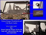 Polaris Ranger Windshield & Cab Back Combo (Full Size Rangers with 60