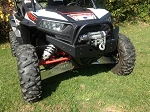 RZR Extreme Front Bumper / Brush Guard with Winch Mount