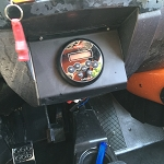 SXS Audio '15+ RZR 900/1000/Turbo radio mounting plate