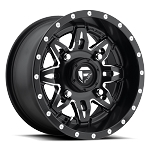 Fuel Lethal Series D567 Matte Black & Milled