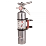 Axia Alloys Quick release fire extinguisher mount w/ 2.5lb Chrome extinguisher