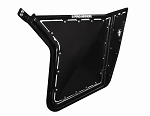 Pro Armor Rzr/Rzr S/Rzr Xp Doors W/ Sheet Metal No Cut Outs (Set) (Black)