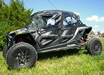 Falcon Ridge Polaris RZR Turbo S 4 Seater Cab Enclosure