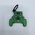 Polaris RZR Keychain (Newer 18+ Models)